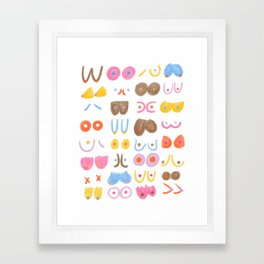 You're The Tits Framed Art Print