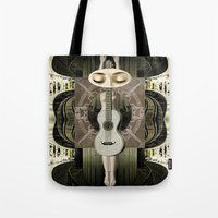 bride Tote Bags featuring Bride by Ira Carter