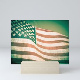 Happy Flag Day Mini Art Print