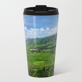 Azores islands landscape Travel Mug