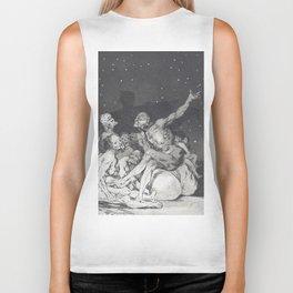 When the day comes, we are gone - Francisco de Goya (1797) Biker Tank