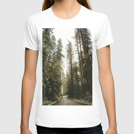 Redwood Forest Adventure III - Nature Photography T-shirt