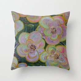 My flowers Throw Pillow