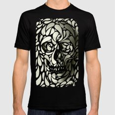 Skull X-LARGE Mens Fitted Tee Black