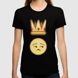 King/Queen Side Eye Emoji T-shirt