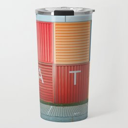Amsterdam Noord Containers Travel Mug