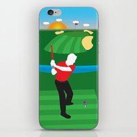 sith iPhone & iPod Skins featuring Sith Golf by BHHS Graphic Design