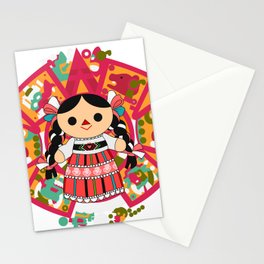 Maria 4 (Mexican Doll) Stationery Cards