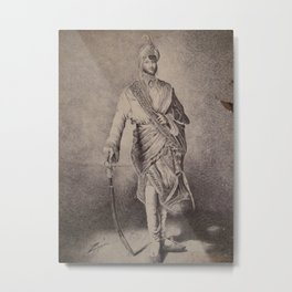 South East Asian Prince Metal Print
