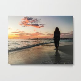 In to the Hues Metal Print