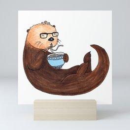 Ramen Otter Mini Art Print