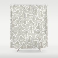 lace Shower Curtains featuring lace by beautifyprints
