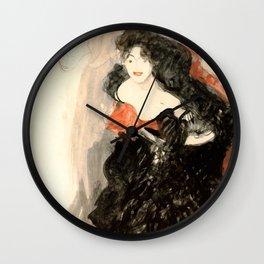 "Gustav Klimt ""Study for Judith II"" Wall Clock"