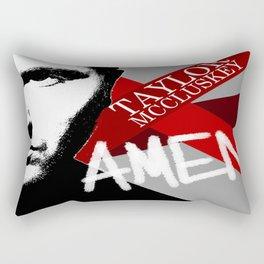 Taylor McCluskey AMEN Album Cover 2012 Rectangular Pillow