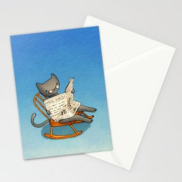 Jellybean The Grown-up Cat Stationery Cards