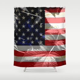 iDeal - Freedom Leaf Shower Curtain