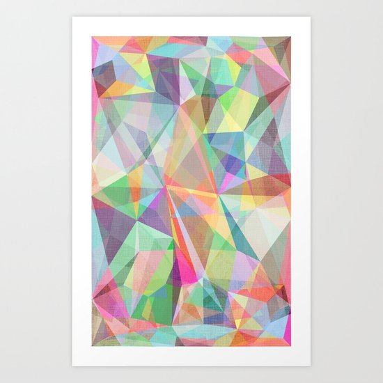 Graphic 32 Art Print