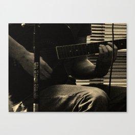 Musician's Hands Canvas Print