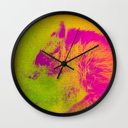 Le Raton Laveur Wall Clock
