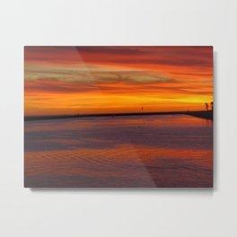 Westside Sunset Metal Print