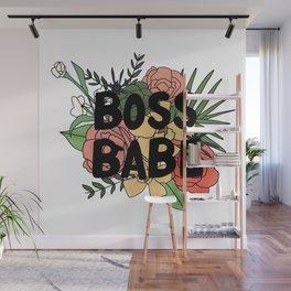 BOSS BABE Wall Mural