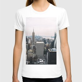 New York skyline from Top of the Rock T-shirt