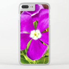 Vinca Morning Clear iPhone Case