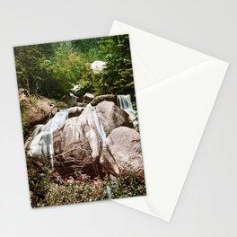 Naiad's Bath Waterfall - Colorado Springs - Circa 1900 Photochrom Stationery Cards