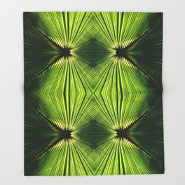 Palmetto Prism Throw Blanket