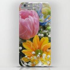 Easter Flowers Slim Case iPhone 6 Plus