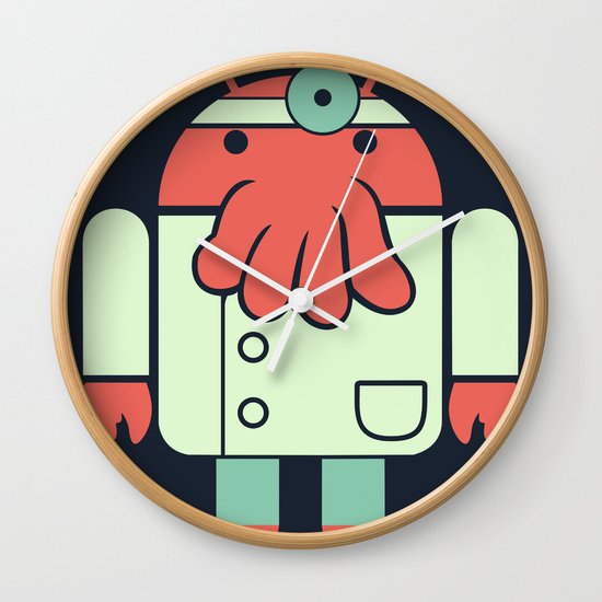 Why not Droidberg Wall Clock