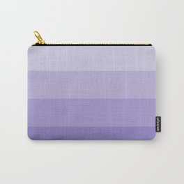 Four Shades of Lavender Carry-All Pouch