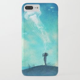 The Thing About Jellyfish iPhone Case