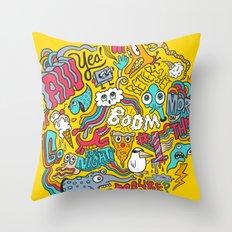 AW YEA! Throw Pillow