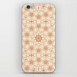 Arabesque Vines - Color: Sugar&Spice iPhone Skin