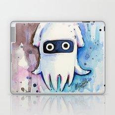 Blooper Watercolor Mario Art Laptop & iPad Skin