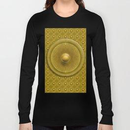 Golden Sunrise Pattern Long Sleeve T-shirt