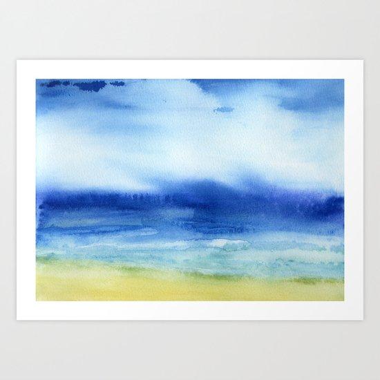 The Sea Is My Church Art Print