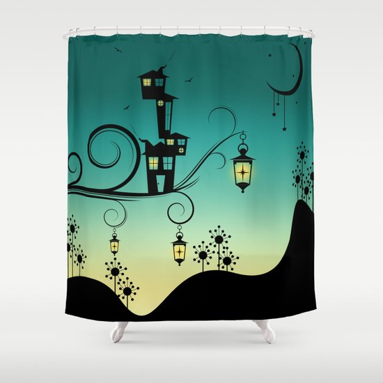 Good Night Little One. Shower Curtain