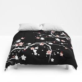 Black Cherry Blossom Comforters