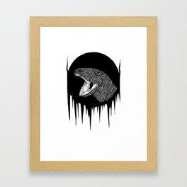 The Great Lizard Framed Art Print