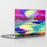 glitch Laptop & iPad Skins featuring Glitch by James McKenzie