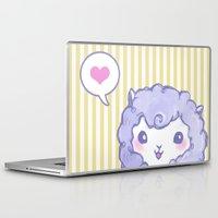 alpaca Laptop & iPad Skins featuring Alpaca by Nurt