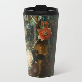Jan van Huysum - Still Life with Flowers and Fruit Travel Mug