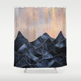 Mountainscape Shower Curtain