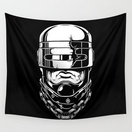Hey, Robocop! Wall Tapestry