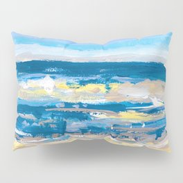 Wave. Beach Painting Series No.11 Pillow Sham