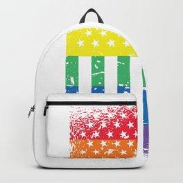 Usa LGBTQ Pride Backpack