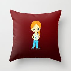 MiniMariona Throw Pillow