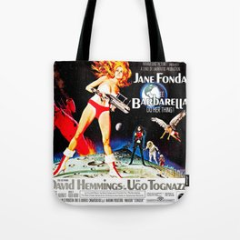 Go Barbarella! Tote Bag